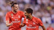 Marco Asensio anotó un golazo tras pase a tres dedos de Gareth Bale