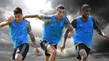 Dybala y Douglas Costa se burlaron de Cristiano Ronaldo a ritmo de Fortnite
