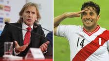 Esto dijo Ricardo Gareca sobre una posible convocatoria a Claudio Pizarro