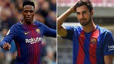 Barcelona traspasó a Yerry Mina al Everton y cede a André Gomes