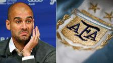 Guardiola arremetió contra el presidente de la AFA: Estoy decepcionado