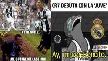 Cristiano Ronaldo es víctima de memes tras anotar su primer gol con Juventus