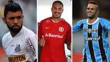 Con Paolo Guerrero: los 15 delanteros mejor pagados del Brasileirao 2018