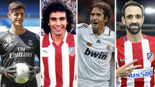 El once ideal jugadores que estuvieron en el Real Madrid y Atlético de Madrid