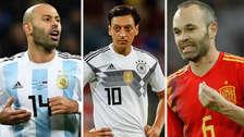Hora del adiós: 13 jugadores que se retiraron de sus selecciones tras Rusia 2018