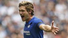 1. Marcos Alonso (27 años): el lateral zurdo español milita en el Chelsea de Inglaterra.