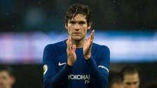 Marcos Alonso (27 años): el lateral zurdo español milita en el Chelsea de Inglaterra.