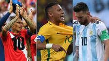 Perú: ¿en qué puestos quedaron las selecciones sudamericanas en Ránking FIFA?