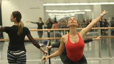 Integrantes del Ballet Nacional de Ucrania se encontraron con miembros del Ballet Nacional [FOTOS]