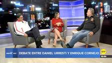 Debate   Cornejo y Urresti discutieron las propuestas que tienen para la ciudad