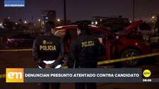 Candidato a la Alcaldía de Villa María del Triunfo denunció un supuesto atentado en su contra