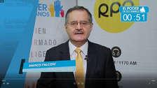Elecciones 2018: Marco Falconí expone principales propuestas en transporte y lucha contra la corrupción