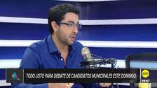 """Castañeda Pardo: """"Reggiardo ya empezó a poner el parche para no ir al debate"""""""