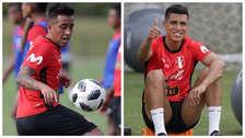 Perú vs. Chile: Paolo Hurtado y Christian Cueva se unieron a los entrenamientos en Miami