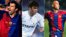 10 jugadores que se pusieron las camisetas de Barcelona y Real Madrid (FOTOS)