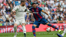 Volvió a decepcionar: Real Madrid perdió 2-1 ante Levante por la Liga de España