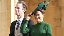 Pippa Middleton aparece por primera vez en público con su bebé