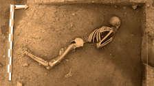 Descubren entierros humanos de hace 3,000 años en zona arqueológica del Cusco