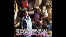 Conoce la situación laboral de la mujer peruana