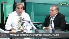 Yonhy Lescano y Marco Arana respondieron las preguntas del referéndum nacional