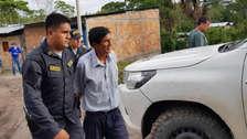 Capturan a sujeto que abusó y embarazó a su hija de 13 años en Moyobamba