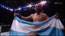 UFC Argentina: Neil Magny vs. Santiago Ponzinibbio y todos los resultados del evento desde Buenos Aires