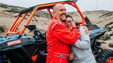 Lucas Barron, primer participante del Rally Dakar con síndrome de Down
