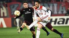 Milan eliminado de la Europa League tras perder ante Olympiacos