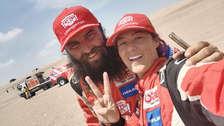 ¡Sueño cumplido! Fernanda Kanno es la primera mujer peruana en terminar el Dakar 2019 | VIDEO