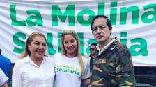 Sofía Franco y su esposo llevaron donaciones a San Juan de Lurigancho [FOTOS Y VIDEO]