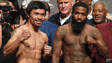 Manny Pacquiao vs. Adrien Broner: así fue el pesaje oficial previo a la pelea por el título wélter