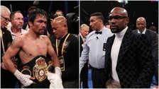 Manny Pacquiao retó a Floyd Mayweather: