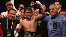 Manny Pacquiao se quedó con el título de peso wélter de la AMB tras ganar a Adrien Broner: resultados de todas las peleas en Las Vegas