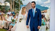 Fiorella Cayo y Miguel Labarthe: Así fue el detrás de cámaras de la romántica boda [VIDEO]