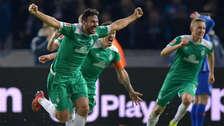 Claudio Pizarro con Werder Bremen: así festejó tras anotar su gol 195 en la Bundesliga | FOTOS