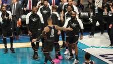 Team LeBron venció 178-164 al Team Giannis en el NBA All-Star Game 2019