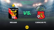 HOY Melgar vs. Caracas EN VIVO: juegan en partido de ida por la tercera fase de la Copa Libertadores