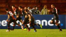 Melgar venció 2-0 a Caracas en Arequipa y buscará el pase a la fase de grupos de Copa Libertadores en Venezuela