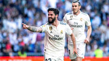 Real Madrid ganó 2-0 a Celta en el retorno de Zinedine Zidane al banquillo