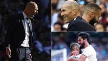 Real Madrid: Zinedine Zidane y 20 fotos de los gestos y celebraciones de su regreso triunfal