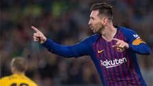 ¡De otro planeta! Con 'hat trick' de Messi, Barcelona venció 4-1 a Betis por la fecha 28 de la Liga Santander