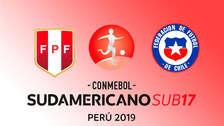 Perú 0-0 Chile EN VIVO: desde San Marcos por el grupo A del Sudamericano Sub 17