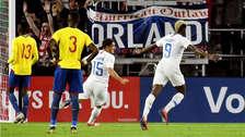 Estados Unidos ganó 1-0 a Ecuador en amistoso internacional FIFA