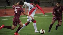 Perú no pudo con Venezuela y sumó su segundo empate sin goles en el Sudamericano Sub 17