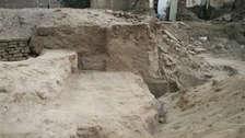 Descubren restos arqueológicos mochicas en pleno centro de Trujillo