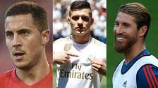 Con Eden Hazard y Luka Jovic: el once de ensueño que armará el Real Madrid