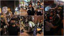 Policía arremete contra manifestantes en nueva protesta masiva en Hong Kong [FOTOS]