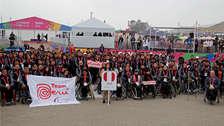 Lima 2019: emotiva bienvenida a la delegación peruana en la Villa Parapanamericana