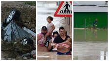 Inundaciones, carreteras en ruina y seis muertos dejan fuertes lluvias en España [Fotos]