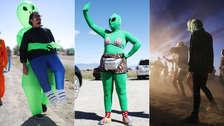 """¿Éxito o fracaso? 20 fotos que muestran cómo fue realmente la """"invasión"""" al Área 51"""